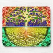 Tree of Life Heart Mouse Pad (<em>$11.60</em>)