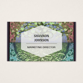 Tree of Life Hearts and Love Business Card