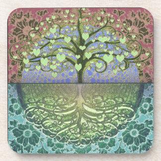 Tree of Life Hearts and Love Coaster