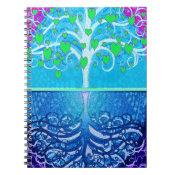 Tree of Life Hearts Notebook (<em>$13.70</em>)