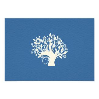 Tree of Life Hebrew Jewish Wedding RSVP Announcements