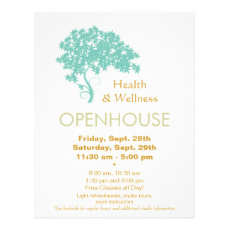Tree of Life Holistic Health and Wellness Flyer
