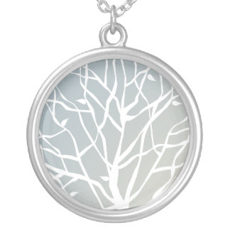 Tree of life II Silver Plated Necklace