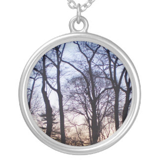 Tree of life III Silver Plated Necklace