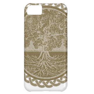 Tree of Life in Brown iPhone 5C Case