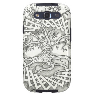 Tree of Life in Celtic Design Galaxy S3 Cover