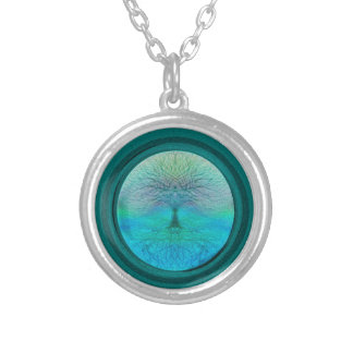 Tree of Life in Green Colors Pendants