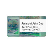 Tree of Life in Pale Green Colors Label (<em>$3.15</em>)