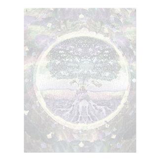 Tree of Life in Rainbow Metal Colors Flyer