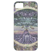 Tree of Life in Rainbow Metal Colors iPhone SE/5/5s Case (<em>$26.35</em>)
