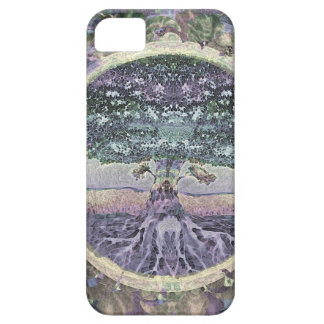 Tree of Life in Rainbow Metal Colors iPhone SE/5/5s Case