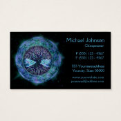 Tree of Life in Space by Amelia Carrie Business Card (<em>$27.45</em>)