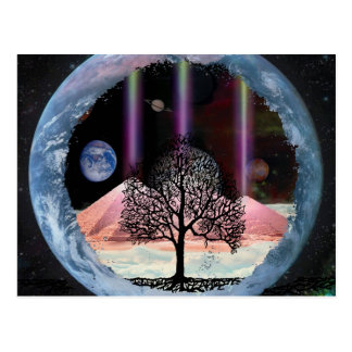 Tree of Life Inner Truth Postcard