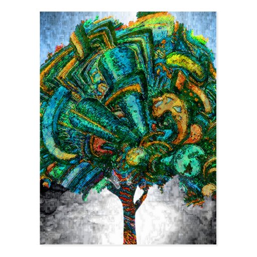 Tree of Life Invent Postcard