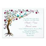 "Tree of life invitations 5"" x 7"" invitation card"