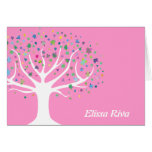 Tree of Life Invite Thank You Card Note Card