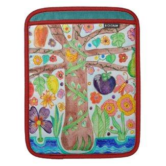 Tree of Life iPad Sleeve rickshawsleeve