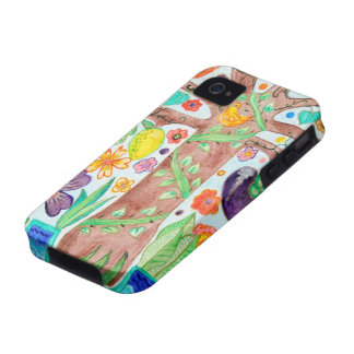 Tree of Life iPhone 4 Tough iPhone 4/4S Case