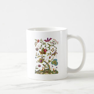 Tree of Life Jacobean Embroidery Coffee Mug