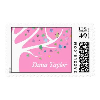Tree of Life Jewish Invitation Postage Stamp