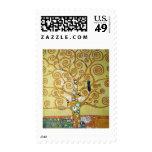 TREE OF LIFE - Klimt Stamps
