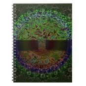 Tree of Life Knowingness Electric Colored.jpg Notebook (<em>$13.70</em>)