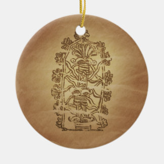 Tree of Life Knowledge Babylonian Magic Charms Ceramic Ornament