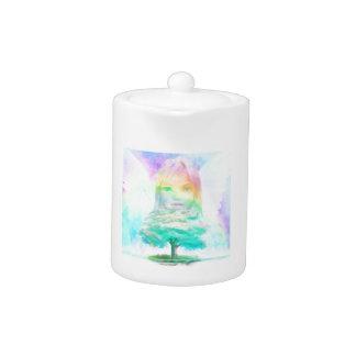 Tree of Life Light Angel Teapot