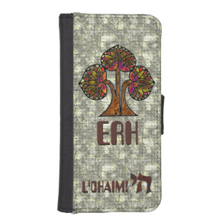 Tree of Life - Light (Personalized) Phone Wallet Cases