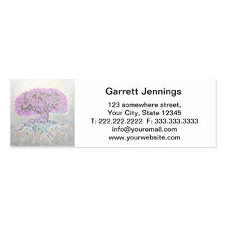 Tree of Life Lightness Double-Sided Mini Business Cards (Pack Of 20)