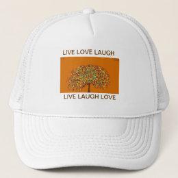 "Tree Of Life ""LIVE LAUGH LOVE"" Trucker Hat"
