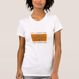 "Tree Of Life ""Live Love Laugh"" T-Shirt"