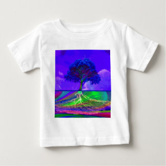 Tree of Life Live Your Dream Baby T-Shirt