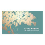 Tree of Life Logo  Health and Wellness Double-Sided Standard Business Cards (Pack Of 100)