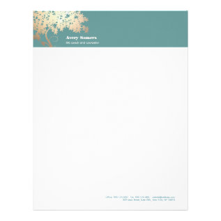 Tree Of Life Logo  Health And Wellness Letterhead at Zazzle