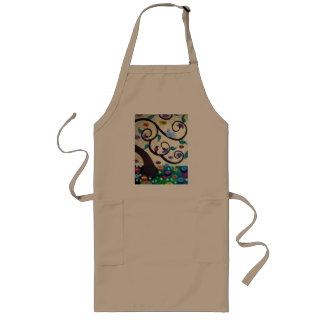 Tree of life long apron