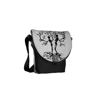 Tree of Life Love Separated Courier Bags