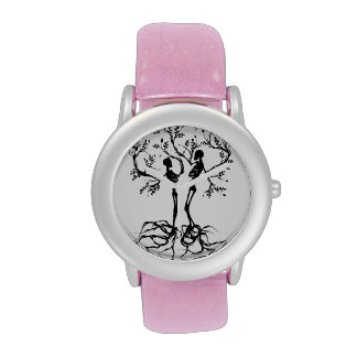 Tree Of Life Love Separated Wrist Watches