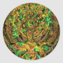 Tree of Life Mandala Dance Classic Round Sticker (<em>$5.25</em>)