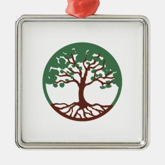 Tree Of Life Metal Ornament