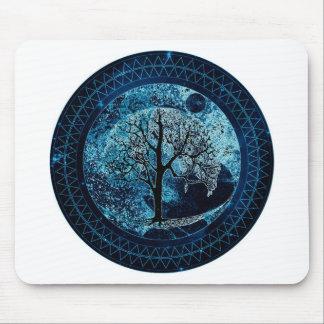 Tree of Life Midnight Sky Mouse Pad