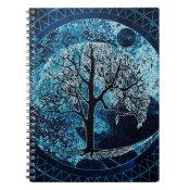 Tree of Life Midnight Sky Notebook (<em>$13.70</em>)