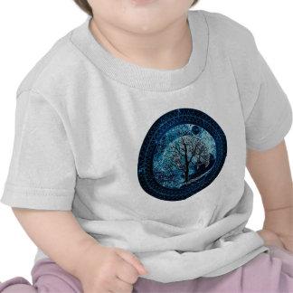 Tree of Life Midnight Sky T Shirts