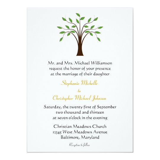 Life Of Lorin Our Wedding Tree: Tree Of Life Modern Symbolic On White #2 Wedding