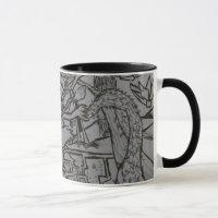 Tree of life mosaic for mug