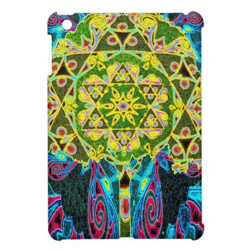 Tree of Life Mosaic Pattern iPad Mini Case