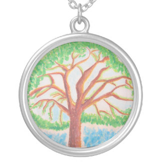 Tree of Life-necklace Silver Plated Necklace