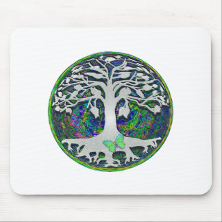 Tree of Life New Beginnings by Amelia Carrie Mouse Pad