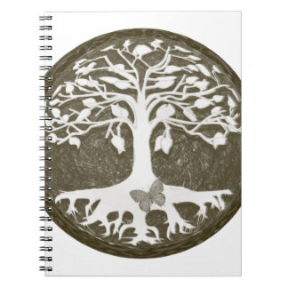 Tree of Life New Beginnings by Amelia Carrie Notebook