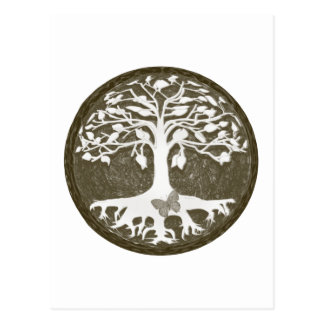 Tree of Life New Beginnings by Amelia Carrie Postcard